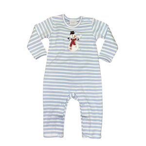 Squiggles Necktie Frosty Boy Coverall