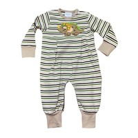 Squiggles Dinosaur Stripe Coverall