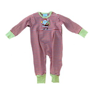 Squiggles Bell Ringing Santa Boy Coverall