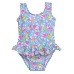 Flap Happy Kissy Fishy Infant Ruffle Swimsuit