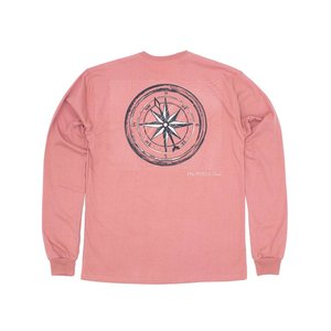 Properly Tied Salmon Compass L/S Tee