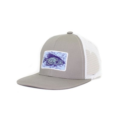 Properly Tied Crappie Trucker Snapback Hat