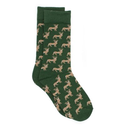 Properly Tied Whitetail Lucky Duck Socks
