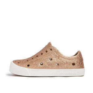 Gold Glitter Kira Waterproof Sneaker