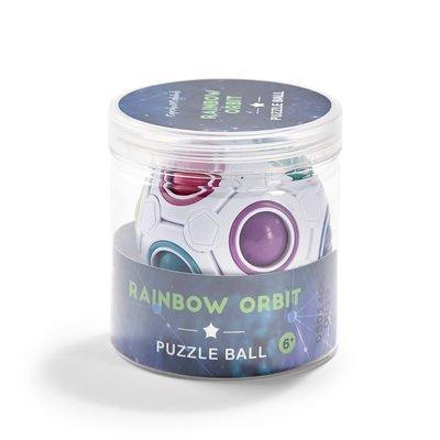 Two's Company Rainbow Orbit Puzzle