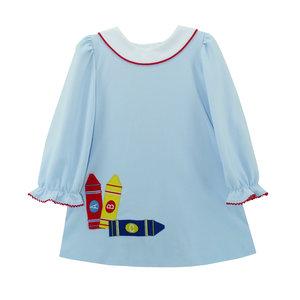 Zuccini Cloud Knit ABC Applique Dress