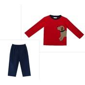 Zuccini Labrador Wrap Knit Pant Set