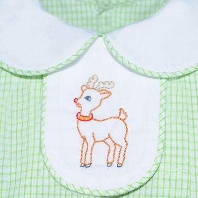 Remember Nguyen Lime Green 4 Tabs Dress
