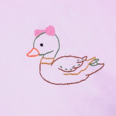 Baby Sen Pink Duck Dress