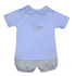Baby Sen Blue Duck Short Set