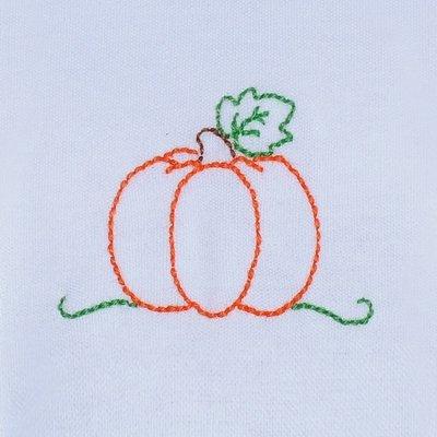 Baby Sen Green Pumpkin Bloomer Set