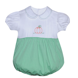 Baby Sen Green Pumpkin Girl Bubble