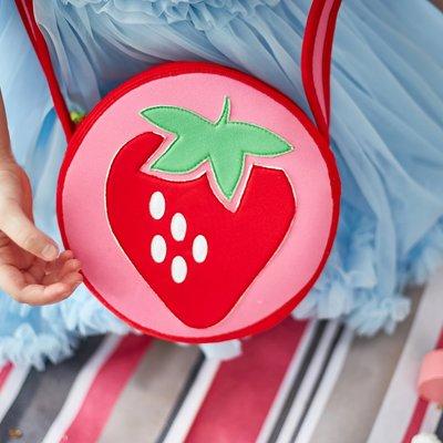 Dabbawalla Bags Strawberry Fields Crossbody Purse