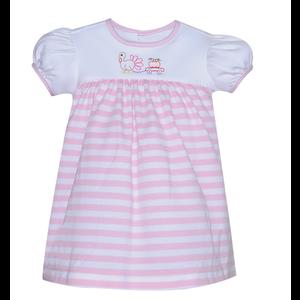 Baby Sen Pink Pulling Pumpkin Dress