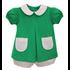 Baby Sen Green Jesse Bloomer Set