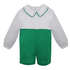 Baby Sen Green Jesse Boy Romper