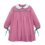 Baby Sen Red Shay Dress