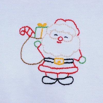Baby Sen Red Santa Girl Pant Set