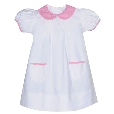 Baby Sen White Austin & Bailey Dress