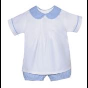 Baby Sen White Austin & Bailey Short Set