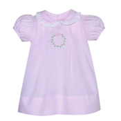 Baby Sen Pink Wreath Dress