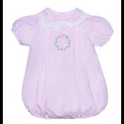 Baby Sen Pink Wreath Girl Bubble