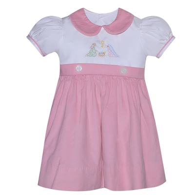 Remember Nguyen Pink Nativity Dress