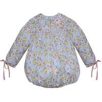 Remember Nguyen Peach Floral JoEllen Girl Bubble