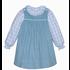 Remember Nguyen Cadet Blue Hayden Dress