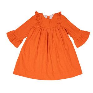 The Oaks Apparel Millie Ross Burnt Orange Dress