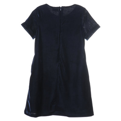 Gabby Blue Cozy Shirt Dress