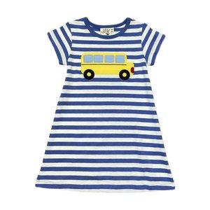 Luigi School Bus Stripe Knit Dress