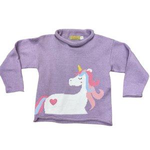 Luigi Unicorn w/Mane & Heart Sweater
