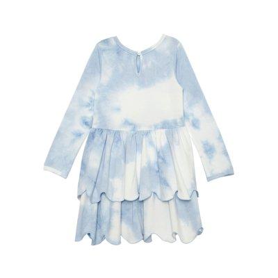 Isobella & Chloe Cotton Clouds Knit Dress