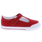 Footmates Drew Red Sneaker