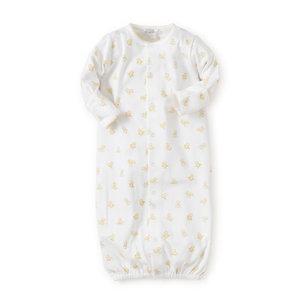 Kissy Kissy Hatchlings Print Convertible Gown