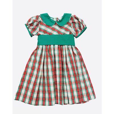 Lulu Bebe LLC Green Sash Waist Dress
