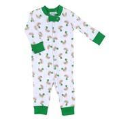 Magnolia Baby Tiny Mallard Zipped Pajama