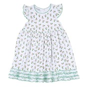 Magnolia Baby Tiny Mallard Print Toddler Dress