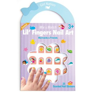 Girl Nation Lil' Fingers Nail Art-Mermaids & Friends