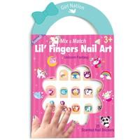 Girl Nation Lil' Fingers Nail Art-Unicorn Fantasy