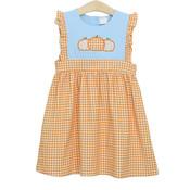 Trotter Street Kids Pumpkin Trio Dress