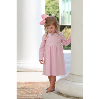 Trotter Street Kids Claire Light Pink Stripe Dress