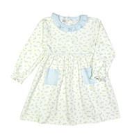 Baby Loren Diana Floral Pima Dress