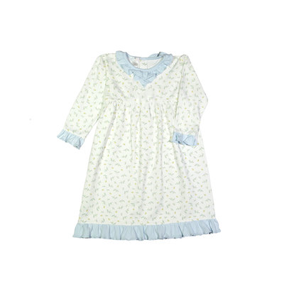 Baby Loren Diana Floral Pima Doll Night Gown