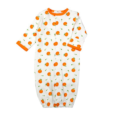 Baby Loren Pumpkin Patch Pima Converter Gown