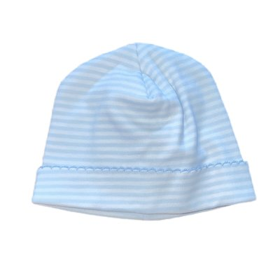 Magnolia Baby Magnolia Baby Stripes Hat Light Blue