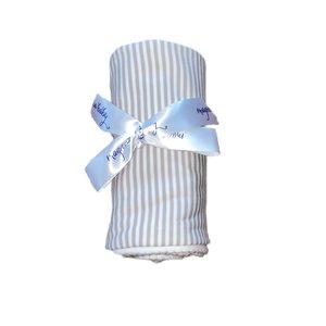 Magnolia Baby Magnolia Baby Stripes Blanket Silver