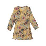 Isobella & Chloe Zen Garden Floral Woven Dress