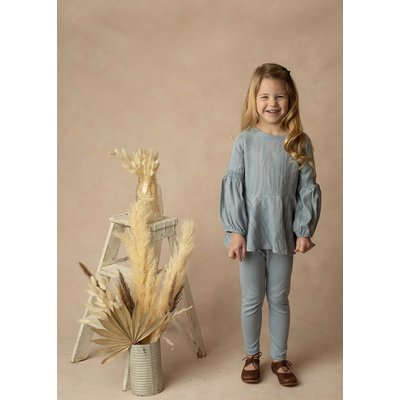 Mabel & Honey Daydreamer Blue 2PC Knit Set